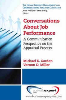Conversations About Job Performance, Paperback / softback Book