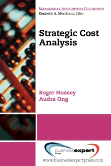 Strategic Cost Analysis, Paperback / softback Book