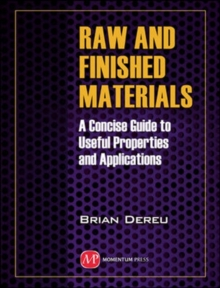 Raw and Finished Materials, Paperback Book