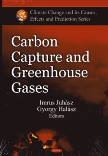 Carbon Capture & Greenhouse Gases, Hardback Book