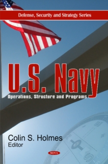 U.S. Navy : Operations, Structure & Programs, Hardback Book