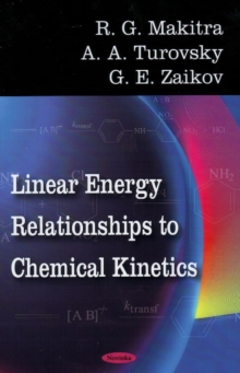 Linear Energy Relationships to Chemical Kinetics, Paperback Book