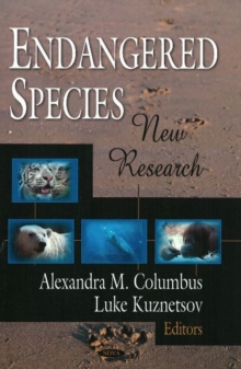 Endangered Species : New Research, Hardback Book