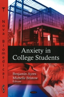 Anxiety in College Students, Hardback Book