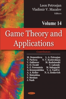 Game Theory & Applications : Volume 14, Hardback Book