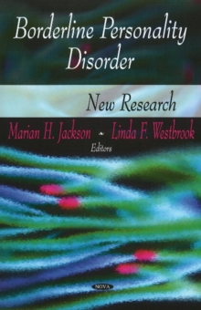 Borderline Personality Disorder : New Research, Hardback Book