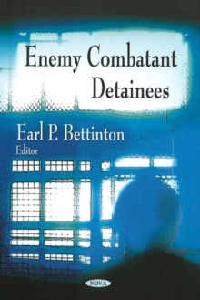 Enemy Combatant Detainees, Paperback Book