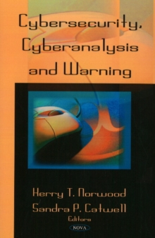 Cybersecurity, Cyberanalysis & Warning, Paperback / softback Book