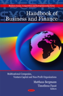 Handbook of Business & Finance : Multinational Companies, Venture Capital & Non-Profit Organizations, Hardback Book