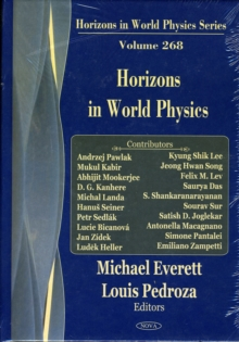 Horizons in World Physics : Volume 268, Hardback Book