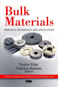 Bulk Materials : Research, Technology & Applications, Hardback Book