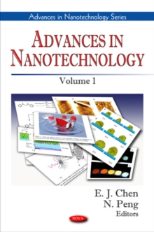 Advances in Nanotechnology : Volume 1, Hardback Book