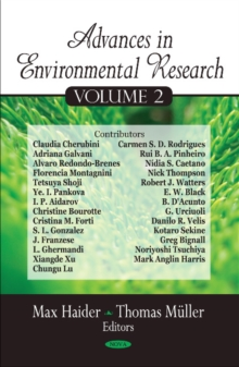 Advances in Environmental Research : Volume 2, Hardback Book