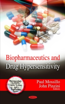 Biopharmaceutics & Drug Hypersensitivity, Hardback Book