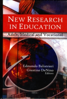 New Research in Education : Adult, Medical & Vocational, Hardback Book