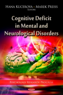 Cognitive Deficit in Mental & Neurological Disorders, Hardback Book