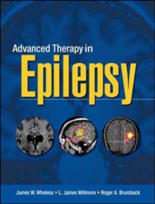 Advanced Therapy in Epilepsy, Hardback Book