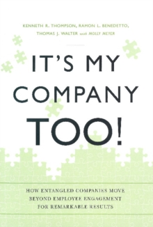 It's My Company Too!, Paperback / softback Book