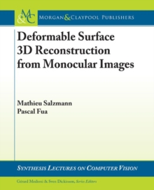 Deformable Surface 3D Reconstruction from Monocular Images, Paperback / softback Book