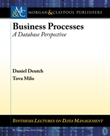 Business Processes : A Database Perspective, Paperback Book