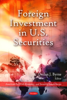 Foreign Investment in U.S. Securities, Paperback / softback Book