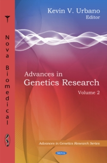 Advances in Genetics Research : Volume 2, Hardback Book