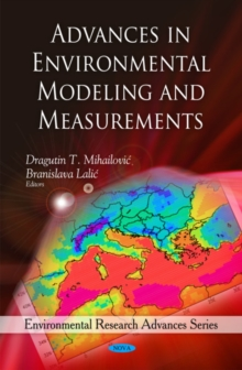 Advances in Environmental Modeling & Measurements, Hardback Book