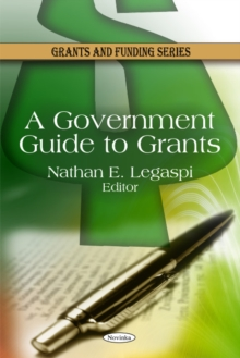 Government Guide to Grants, Paperback / softback Book