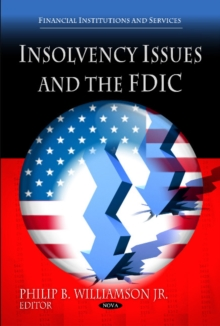 Insolvency Issues & the FDIC, Hardback Book