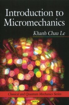 Introduction to Micromechanics, Hardback Book