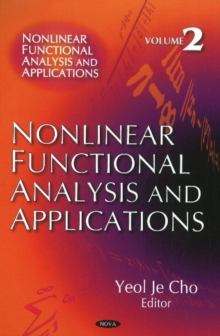 Nonlinear Functional Analysis & Applications : Volume 2, Hardback Book
