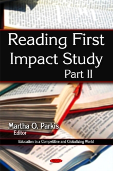 Reading First Impact Study : Part II, Hardback Book