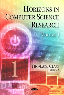 Horizons in Computer Science Research : Volume 1, Hardback Book