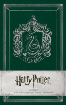 Harry Potter: Slytherin Ruled Pocket Jou, Hardback Book