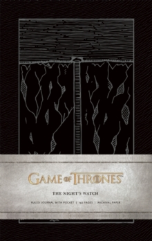 Game of Thrones: The Night's Watch Hardcover Ruled Journal, Hardback Book