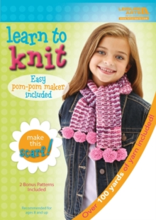 Learn to Knit: Scarf Kit, Kit Book