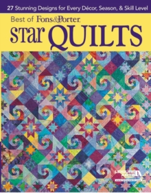Best of Fons & Porter: Star Quilts, Paperback / softback Book