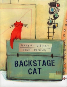Backstage Cat, Hardback Book