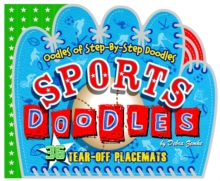 Sports Doodles : 36 Tear-Off Placemats, Paperback / softback Book