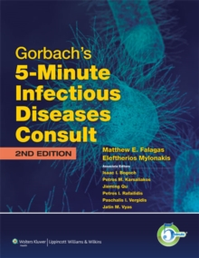 Gorbach's 5-Minute Infectious Diseases Consult, Hardback Book