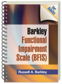 Barkley Functional Impairment Scale (BFIS for Adults), Paperback / softback Book