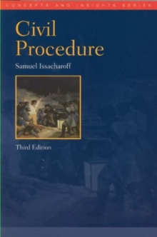 Civil Procedure, Paperback / softback Book