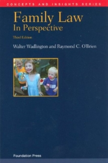 Family Law in Perspective, Paperback / softback Book