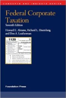 Federal Corporate Taxation, Paperback / softback Book