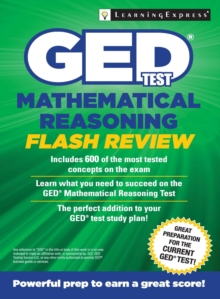 GED Test Mathematics Flash Review, Paperback / softback Book