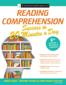 Reading Comprehension Success in 20 Minutes a Day, Paperback / softback Book