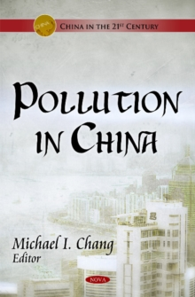 Pollution in China, Hardback Book