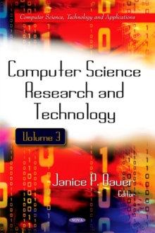 Computer Science Research & Technology : Volume 3, Hardback Book