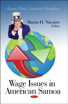 Wage Issues in American Samoa, Hardback Book