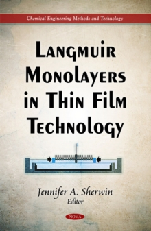 Langmuir Monolayers in Thin Film Technology, Hardback Book